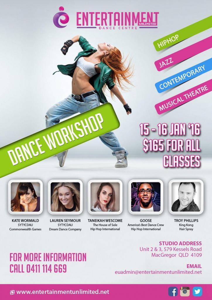 EU Dance Workshop 2016
